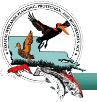 Logo of the Coastal Wetlands Planning, Protection, and Restoration Act